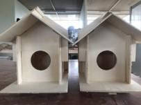TUTKAL - Doğaya Uygun Kuş Evleri Afyonkarahisar'da Üretiliyor
