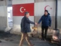 MEHMET ALİ ÖZKAN - Kaymakam Özkan'dan Kontrol Noktası Ziyareti