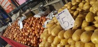 PAZARCI - Ödemiş'te Patates 5, Soğan 7 Lira
