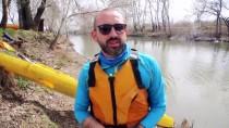 TRAKYA ÜNIVERSITESI - Tunca Nehri Kanoyla Temizlendi