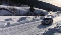 Türkiye'nin İlk Kış Rallisi Nefes Kesti