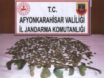 Afyonkarahisar'da 883 Adet Tarihi Sikke Ele Geçirildi