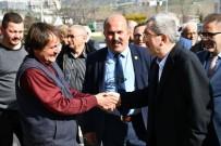 Başkan Vergili Kurtuluş Mahallesi'ndeki Esnaflarla Bir Araya Geldi