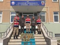 Elazığ'da Kaçak Avlanan 10 Keklik Ele Geçirildi
