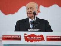 İŞPORTACI - MHP Genel Başkanı Bahçeli: Kriz arayanlar zillette yuvalandı