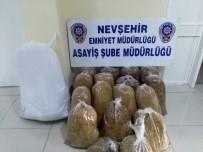 Nevşehir'de 82 Kg Kaçak Tütün Ele Geçirildi