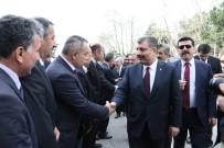 ERDOĞAN BEKTAŞ - Sağlık Bakanı Koca, Hastane İnşaatını İnceledi