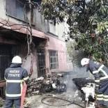 MAĞARACıK - Samandağ'da Korkutan Yangın