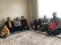 Başkan Er'den Evleri Yanan Dalga Ailesine Ziyaret