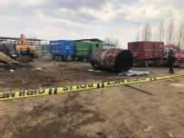 Bingöl'de Boş Benzin Tankı Patladı Açıklaması 1 Yaralı