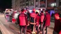 Elazığ'da Otomobil Takla Attı Açıklaması 2 Yaralı