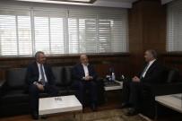 HAK İŞ - Hak İş Genel Başkanı Arslan, Başkan Çelik'i Ziyaret Etti