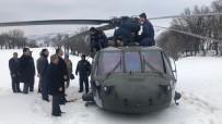 'Helikopterdeki 2'Si Pilot 13 Personel Tahliye Edildi'