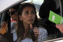 TRAFİK DENETİMİ - Helikoptere Yakalanan Kadın Sürücü Şaşkına Döndü