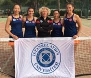 İSTANBUL AYDIN ÜNİVERSİTESİ - İAÜ'nün Kızları Teniste Namağlup Şampiyon