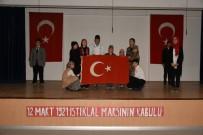 İLKÖĞRETİM OKULU - İnönü'de İstiklal Marşı'nın Kabulü Ve Mehmet Akif Ersoy´U Anma Töreni