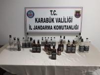 Jandarma'dan Öğrenci Evine Sahte Bandrollü İçki Operasyonu