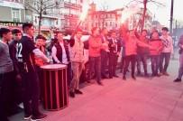 KARAGÜMRÜK - Karagümrükspor Taraftarları, Fatih Belediye Başkan Adayı Ergün Turan'ı Coşkuyla Karşıladı