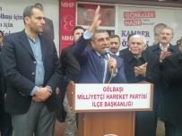 Milletvekili Taşdoğan Gölbaşı İlçesinde İncelemelerde Bulundu
