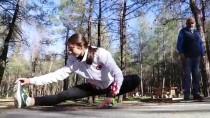 MİLLİ SPORCU - Milli Sporcu Yasemin, Azmiyle Zorlukların Üstesinden Geldi