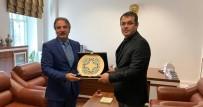 Rektör Bağlı, Kırşehir Cumhuriyet Başsavcısı Bilal Gümüş'ü Ziyaret Etti