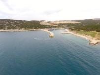 DOĞALGAZ BORU HATTI - Saros Körfezi'ne Batırılacak Dev Uçak Keşan'a Getirildi