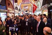 KAPALI ÇARŞI - Vatandaştan Gelen HDP Eleştirisine İmamoğlu'ndan 'Andımız' Örneği İle Yanıt