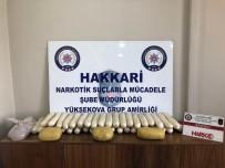 Yüksekova'da 20 Kilo Uyuşturucu Ele Geçirildi