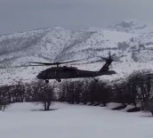 Zorunlu İniş Yapan Polis Helikopteri Sorunsuz Havalandı