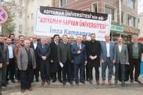 Adıyaman Üniversitesinin İsminin Değişmesi İçin İmza Kampanyası Başlatıldı