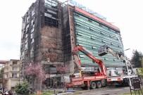 Avrasya Üniversitesi'ndeki Yangının Ardından