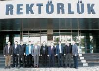 TRAKYA ÜNIVERSITESI - Balkan Üniversiteler Birliği Yönetim Kurulu Trakya Üniversitesinde Toplandı