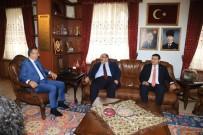 İŞKUR Genel Müdürü Uzunkaya, Seçen'i Ziyaret Etti