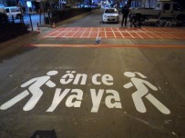 ŞEHİR İÇİ - Karaman Belediyesinden 'Önce Yaya' Çalışması