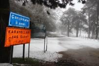 LODOS - Kazdağları'nda Kar, Sahilde Fırtına