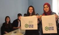 NAYLON POŞET - Naylon Poşete Savaş Açan Üniversite Öğrencileri Bez Çanta Dikiyor