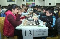 SATRANÇ FEDERASYONU - Okullararası Satranç Turnuvasına Büyük İlgi