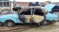 Pazaryeri'nde Çıkan Yangında Samanlık Ve Bir Araç Kullanılmaz Hala Geldi