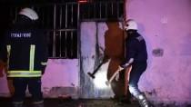 Çamura Saplanan İtfaiye Aracını Bırakıp Yangına Koştular