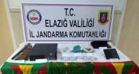 Elazığ'da  PKK/KCK Operasyonu Açıklaması 4 Gözaltı