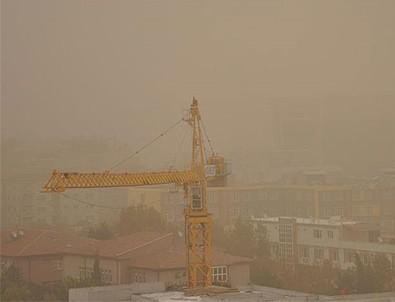 Meteoroloji'den 5 il için toz taşınımı uyarısı
