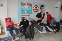Seçim Ofisinde Kan Bağışı Kampanyası
