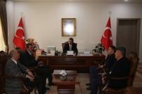 ŞENOL TURAN - SGK İl Müdürü Nizamettin Durmuş Oltu Kaymakamı Turan'ı  Ziyaret Etti