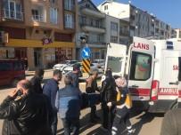 Sinop'ta Motosiklet Kazası Açıklaması 1 Yaralı