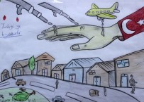 Suriyeli Öğrenciler Duygularını Eserlere Aktardı