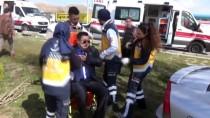 Aksaray'da Trafik Kazası Açıklaması 2 Yaralı
