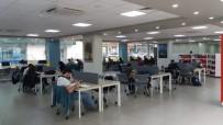 ÇALIŞMA ODASI - Çoban Mustafa Paşa Kütüphanesi Öğrencilerin Cazibe Merkezi Oldu