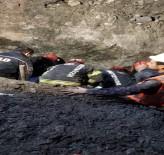TOPRAK KAYMASI - Honaz Tüneli'nde Toprak Kayması Açıklaması 1 Ölü