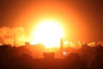 SİVİL SAVUNMA - İsrail'den Gazze'ye hava saldırısı