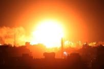 BENYAMİN NETANYAHU - İsrail, Gazze Şeridinde 100 Noktaya Hava Saldırısında Bulundu
